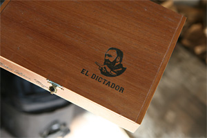 Penton's Dictador Cigar Box