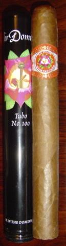 La Flor Dominicana Tubo No. 100