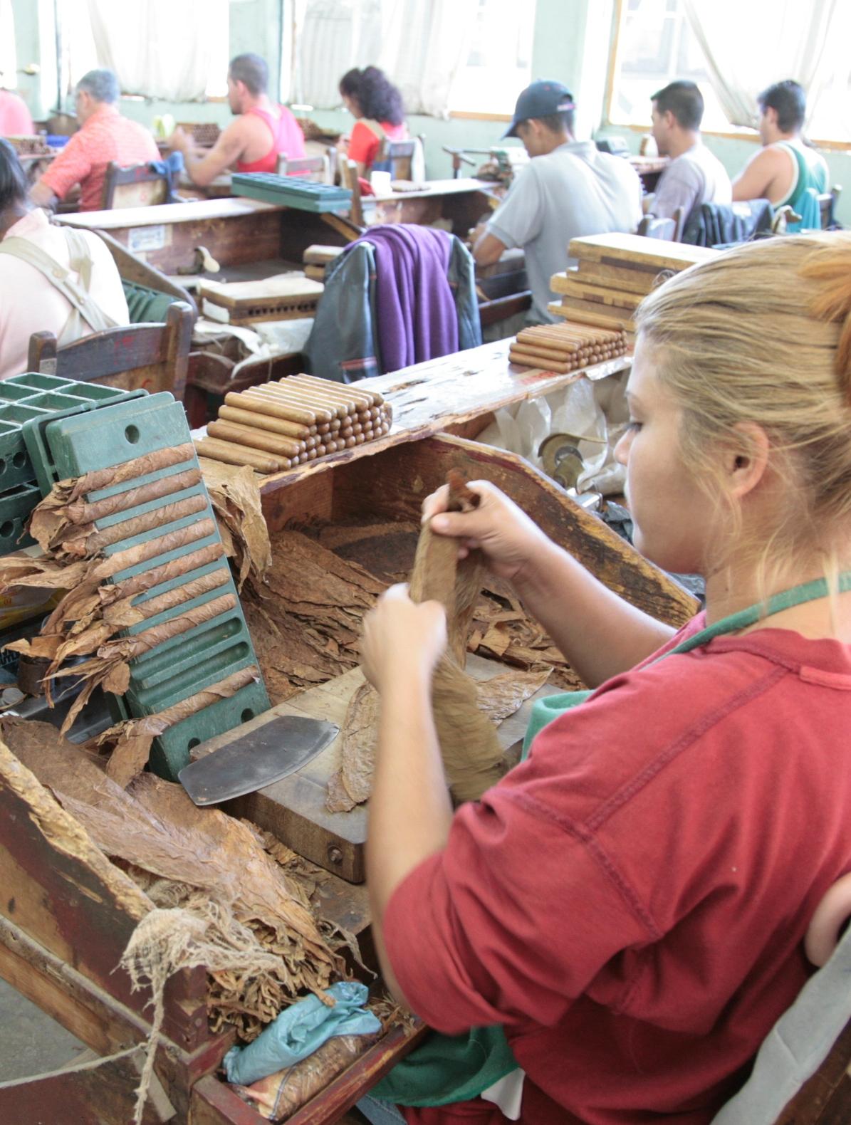 Nicaraguan Cigar Factory