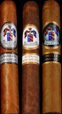 Arganese Cigars 3 pack sampler