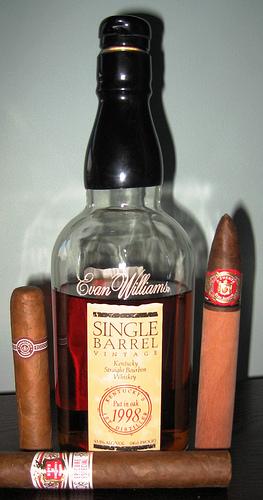 Evan Williams Single Barrel Vintage 1998