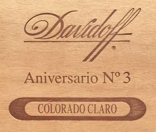 Cigar Review: Davidoff Colorado Claro Aniversario No  3
