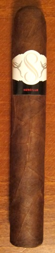 Sencillo Black Double Robusto