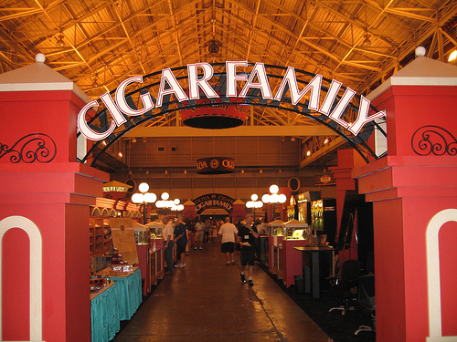 The Cigar Family Setup at IPCPR