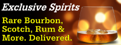 You're invited to enjoy rare spirits.